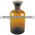 High Quality Screw Clear Reagent Bottle with Dropper