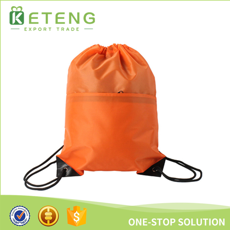 Waterproof 600d nylon cord multicolor drawstring bag