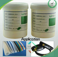Silicone heat-set adhesive liquid glue adhesive for concrete and metal