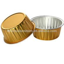 Aluminum foil disposable jelly cup