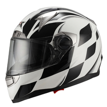 2015 ECE/DOT double visor JX-FF001 fashion STREEE FULL FACE personalized motorcycle helmets unique design