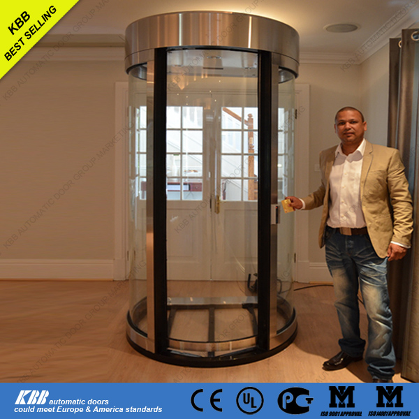 bank security door with bullet-proof glass