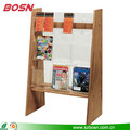 Wall-Mount or Floor-Standing Acrylic Brochure/Literature Displays
