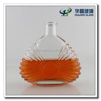 480ml super flint XO glass wiskey bottle with lid wholesale