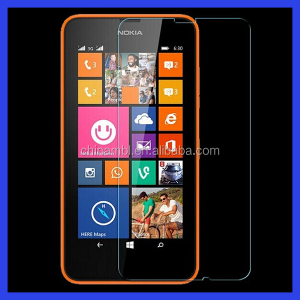 9H anti-shock tempered glass screen protector for Nokia n8/n630