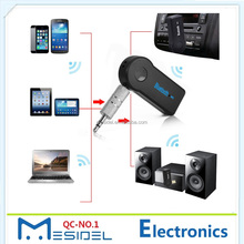 Universal 3.5mm Jack Car A2DP Wireless Bluetooth Car Kit Handsfree AUX Audio Music Receiver Adapter for Phone MP3
