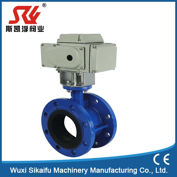 Top quality flanged gear operated butterfly valve hot new products