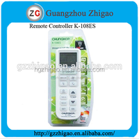 K-108ES universal ac control remote with chunghop remote codes