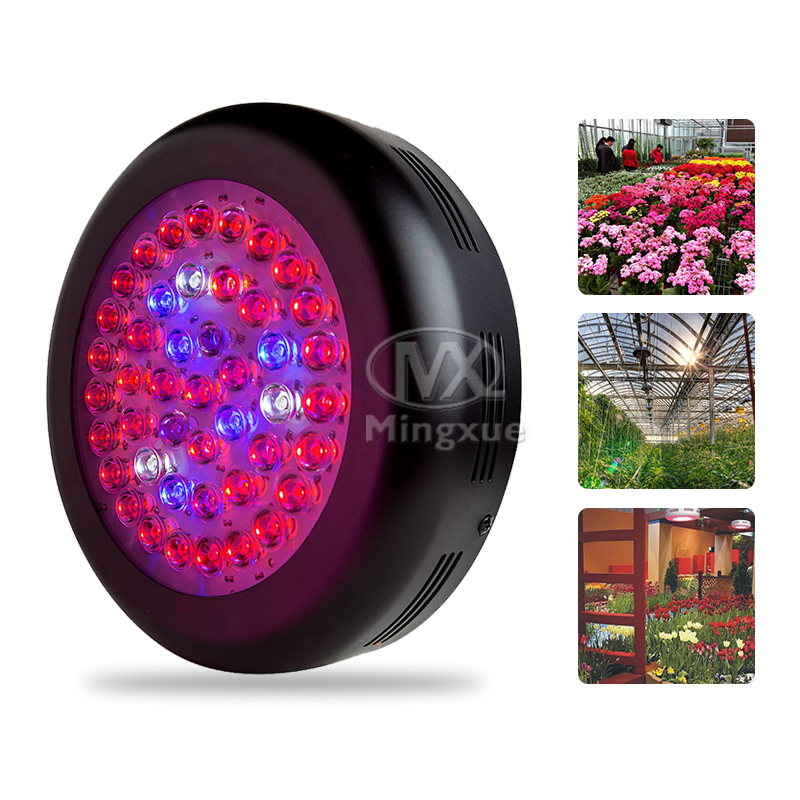 Cheap 135w UFO Led Grow Light With Optical Lens For Medicinal Plants And Flower