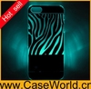 Zebra led case for iphone 5/5s flash case flash while calling