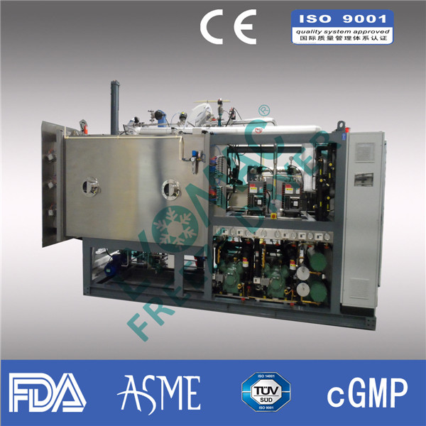 industrial freeze dryer /cGMP FDA compliance pilot freeze dryer Pilot scale(20 to 150 KG capacity)