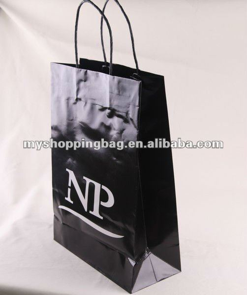 High Quality paper bag support OEM service wholesale gift wrap