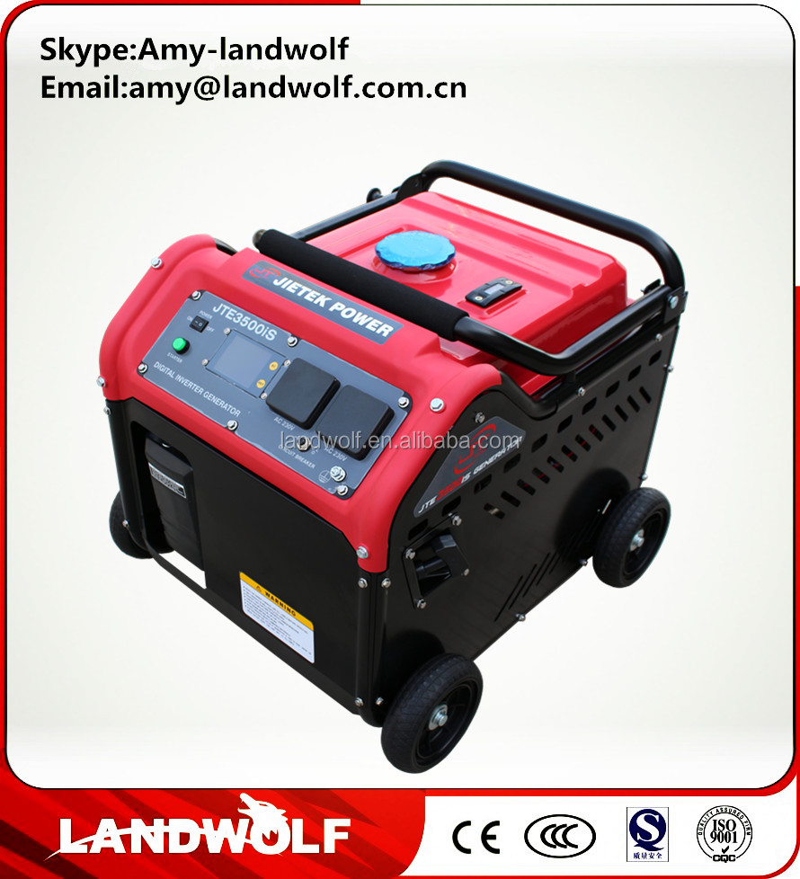 Lighter than Yamaha generator China Competitive Price 220V Portable gasoline Inverter Generator