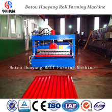 corrugated roof steel making machine cold bending machine 850