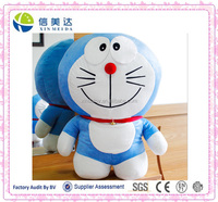Wholesale stock plush doraemon soft toy/doraemon dolls for your memory