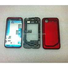 Red Full Housing Cover For HTC Incredible 2 S710e G11