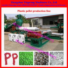 PE,PP , PS ,PET, PVC,EVA, ABS waste plastic recycling pelletizing machine