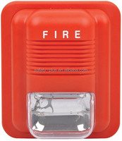 Factory supply red Fire Alarm Siren / Sound & Flash Siren