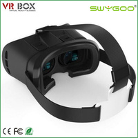 2016 paper cardboard binoculars 3d vr box virtual reality mp4 player video glasses