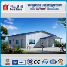 Easy Assemble Slope Roof Prefab House