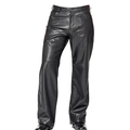 Leather Motorbike Trouser(Motorbike Leather Pants ) Black Blue White Brown Navy Blue