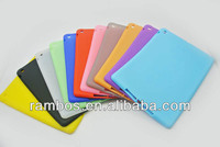 For iPad 5 for iPad Air Silicone Rubber Gel Protective Soft Back Case Cover