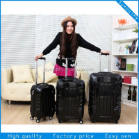 Hot sale fashion us polo trolley luggage/ promotional trolley bag