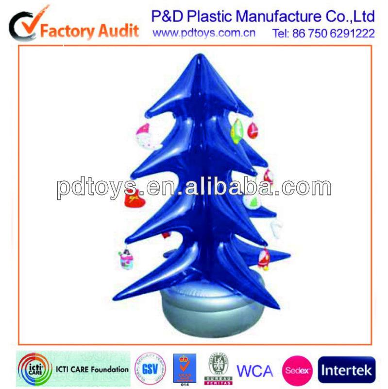 fashionable christmas tree, Inflatable christmas toy, PVC Tree