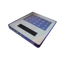 See-Through Mouse Pad with Calculator and USB Hub LS Eplus