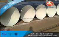 Tianjin export First Grade EN-10217-1 40 inch 3PE/2PE Anti-corrosion SSAW steel pipe