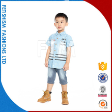 wholesale fancy casual cotton children fashion kids clothes