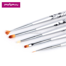 New 5PCS/Set nail Art Acrylic Brushes painting pen liner drawing