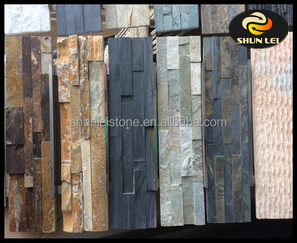 Natural stone wall panels for home decoration