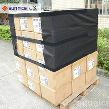 Cardboard Pallet Covers Wrap FIlm Clear Plastic Pallet Covers