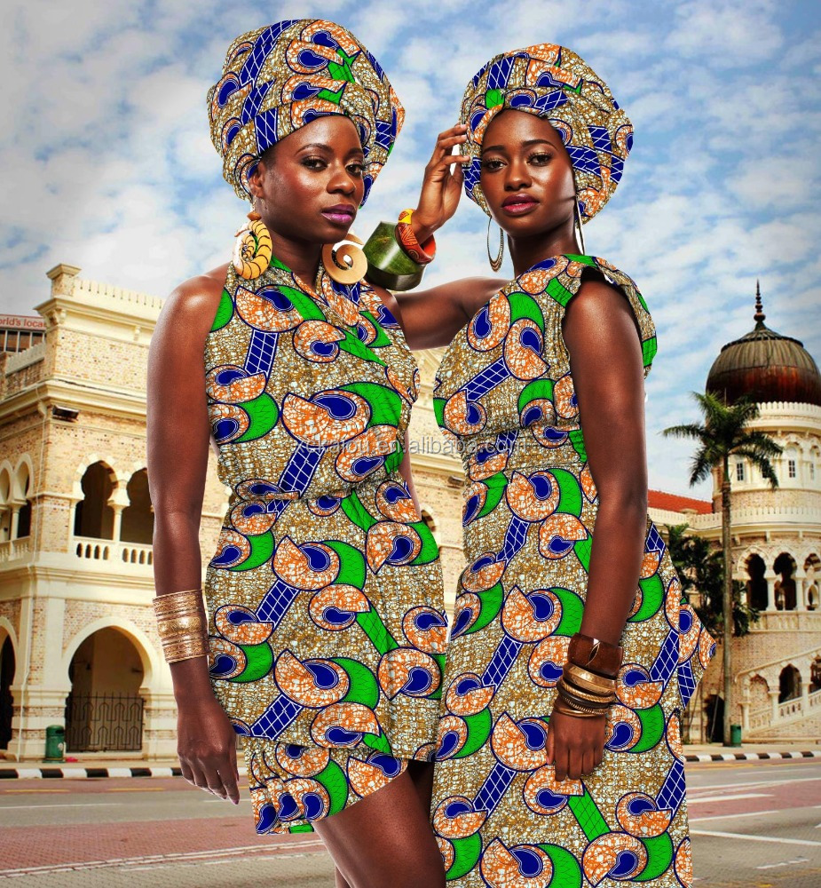 100 polyester super wax print fabric African hot sale