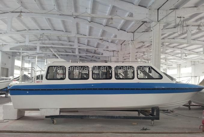 cheap closed passenger taxi boat