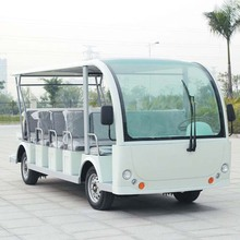 23 Seater electric tourist bus with curtis controller