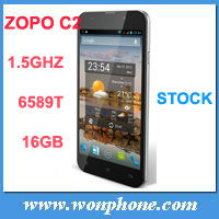 2013 In Stock ZOPO C2 Quad core MTK6589 Android 4.2 Mobile Phone 5'' FHD 1920*1080 Screen 13.0M Camera 3g