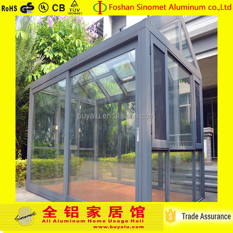 2016 Small Size sun sunlight room House for garden