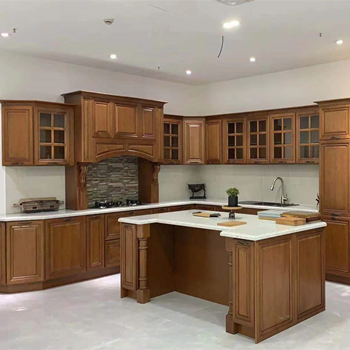 High quality solid wood Kitchen Cabinet