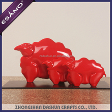 New style abstract small sheep figurines home decoration pieces