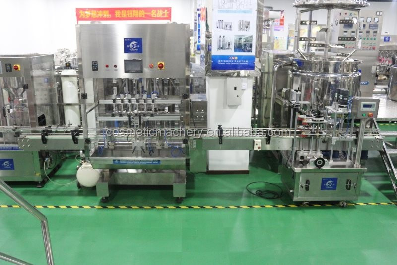 New Condition and Labeling Machine Type bottle filling capping and labeling machine