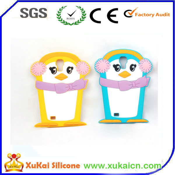 Hot Penguin Silicon Case For Samsung Galaxy S3 Mini