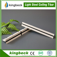 light weight building materials t bar / t runner suspended ceiling