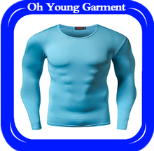 100% polyester quick dry tshirt for sports men,tshirt gym with blank design high quality cheap tshirt with small MOQ