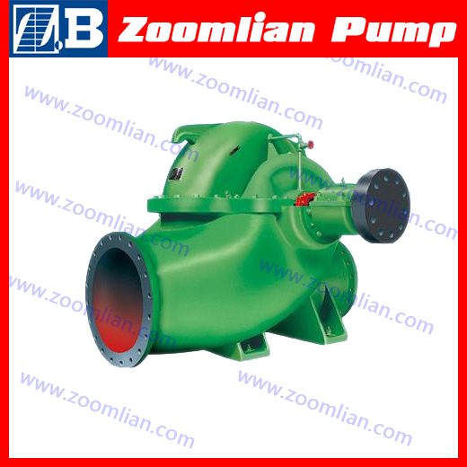 S volute type split case pump