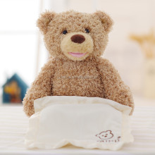 Peek a boo Teddy Bear Playing and Singing Baby Music Toys