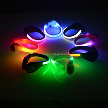 Wholesale Outdoor Led Runner emergency flashing Led Light shoe clips for Runner safety lights