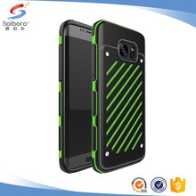 Flexible price TPU+PC for Samsung galaxy s7 edge phone case