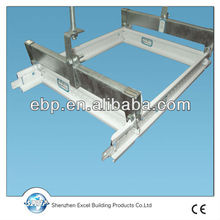 suspended ceiling t runners with acoustic ceiling board